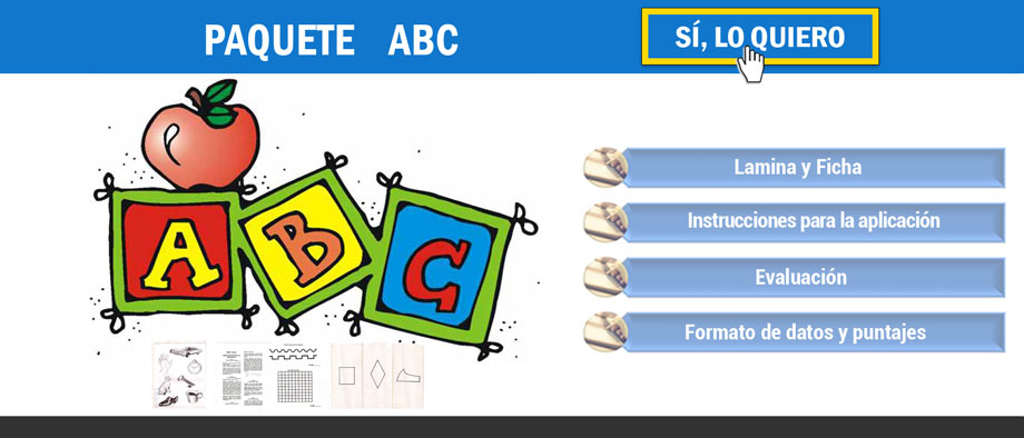 Indice del test abc
