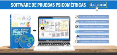 Software de pruebas psicométricas