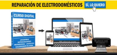 Curso reparación de electrodomésticos