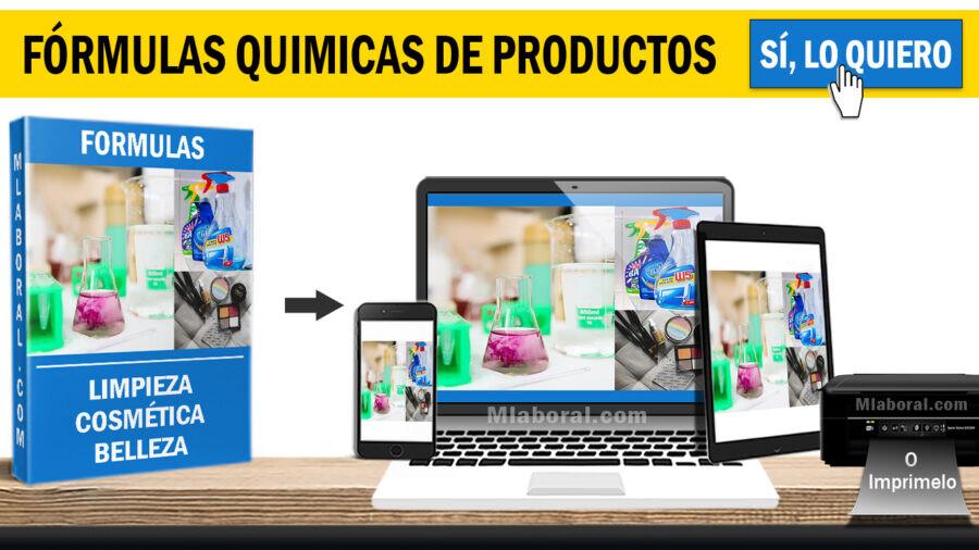 Fórmulas para hacer productos de limpieza