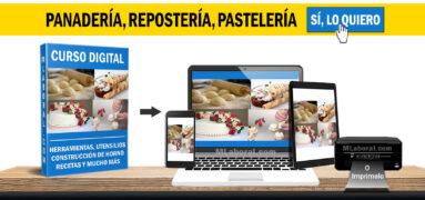 Curso de Panadería, Repostería, Pastelería