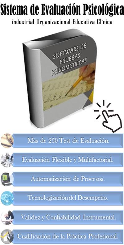 Software de pruebas psicométricas: 250 Pruebas Psicométricas